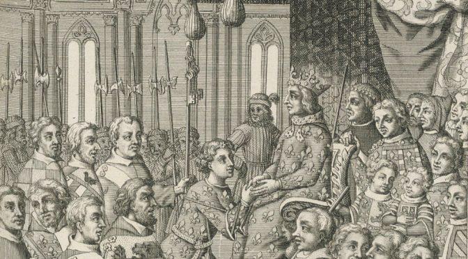 La Librairie des rois Charles V et Charles VI