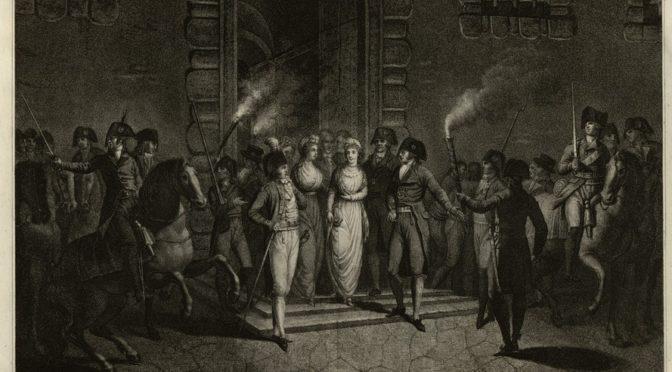 Parution : La famille royale au Temple. Le remords de la Révolution (1792-1795)