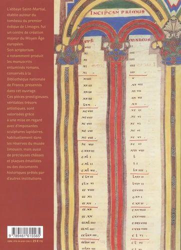 4e de couv.  Chefs-d'oeuvre romans de Saint-Martial de Limoges