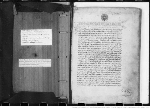 Manuel Bryenne, Harmonica ; Claude Ptolémée, Harmoniques ; Georges Chrysococcès, Syntaxis Persarum ; tables astronomiques.