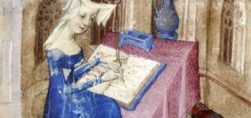 Christine de Pizan, Cent balades d'amant et de dame - 1400-1410 - BnF, Département des Manuscrits
