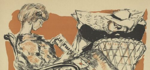 Affiche pour Le Figaro, Pierre Bonnard - 1903 - BnF