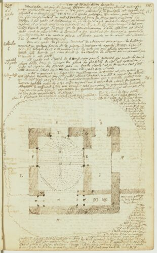 Folio 121r du carnet 265