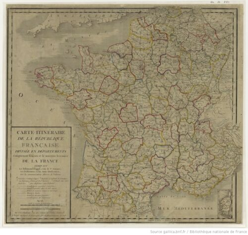 Image 2. La France en l'an XI (1802-1803)