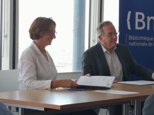 Laurence Engel et Jean Chambaz