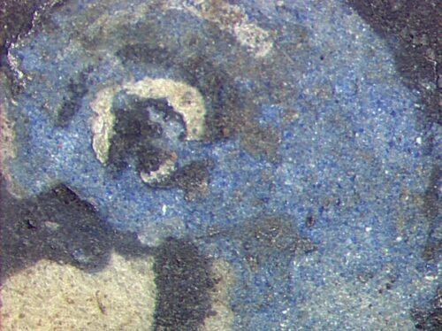 Evangéliaire de Charlemagne (détail), NAL1203 © P.Roger-IRAMAT-CEB