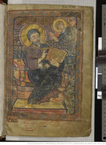 Evangéliaire de Charlemagne, NAL1203,