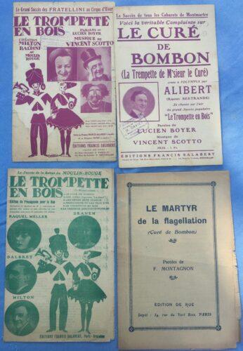 Photo 5 - Les 4 formats sur l'air du Trompette en bois