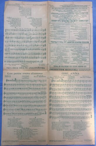 Photo 8, Le Trompette en bois, format de rue verso